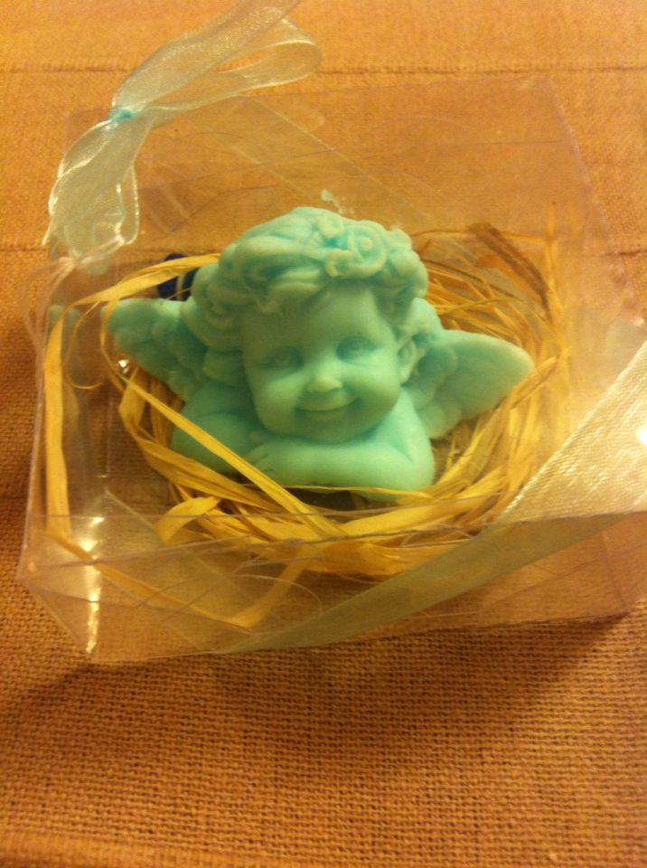 Angel soap whit Mint