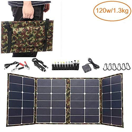 Wyyzss 120w Solar Panel Charger Super Light Solar Panel Kit Foldable With Charge Controller W In 2020 Solar Panel Charger Solar Panel Kits Solar Charger