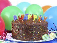 Receta de Pastel de Chocolate de Cumpleaños