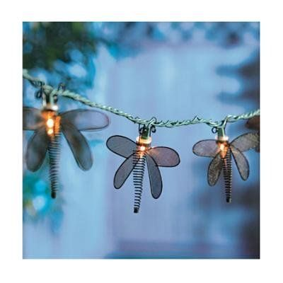 Metal Dragonfly String Lights : 47 best images about The 65th on Pinterest String lights, Patio gardens and Galvanized metal