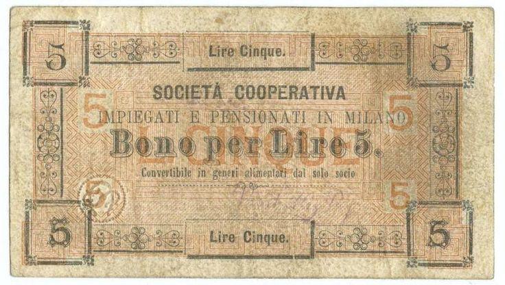 http://www.yayayoo.eu/c/181820502075&pid=12    5 lire biglietto fiduciario societ cooperativa impiegati e pensionati milano  Italia    #5 #lire #biglietto #fiduciario #societ #cooperativa #impiegati #e #pensionati #milano #Italia #acquisti