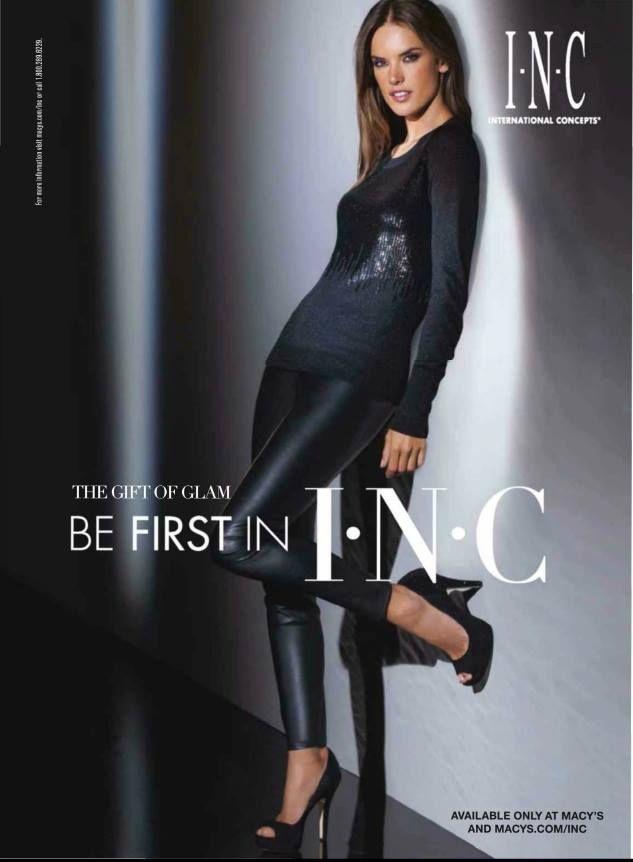 Alessandra Ambrosio for I.N.C