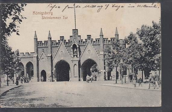 Königsberg Pr.     Steindammer Tor