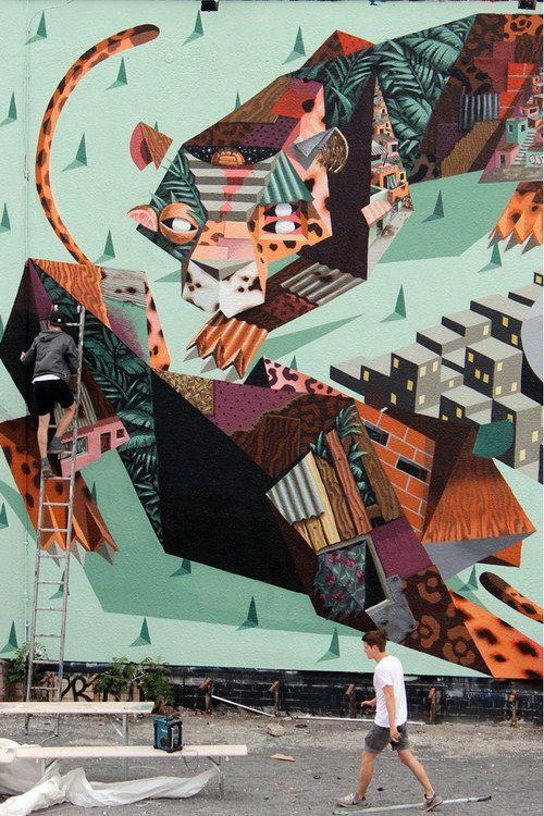 Low Bros Mural In Berlin