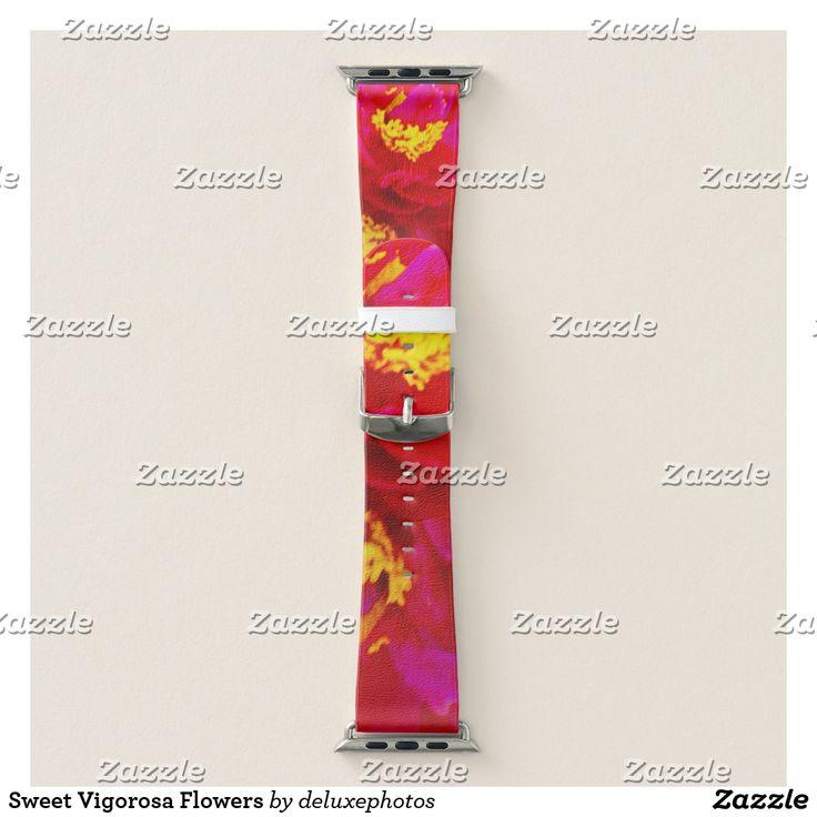 Sweet Vigorosa Flowers Apple Watch Band