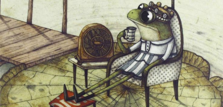 La regina delle rane non può bagnarsi i piedi