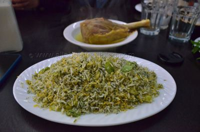 Baghali Polo from #Darband Persian Restaurant