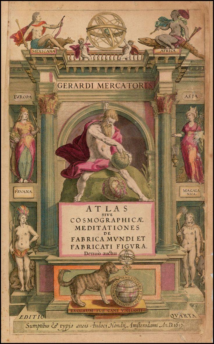 [Title Page] Atlas Sive Cosmographicae Meditationes De Fabrica Mundi et Fabricati Figura . . . 1619 - Barry Lawrence Ruderman Antique Maps Inc.