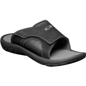Oakley Supercoil Slide 3 Men's Sandal Flip Flops Footwear - Black/Grey /  Size 9.0