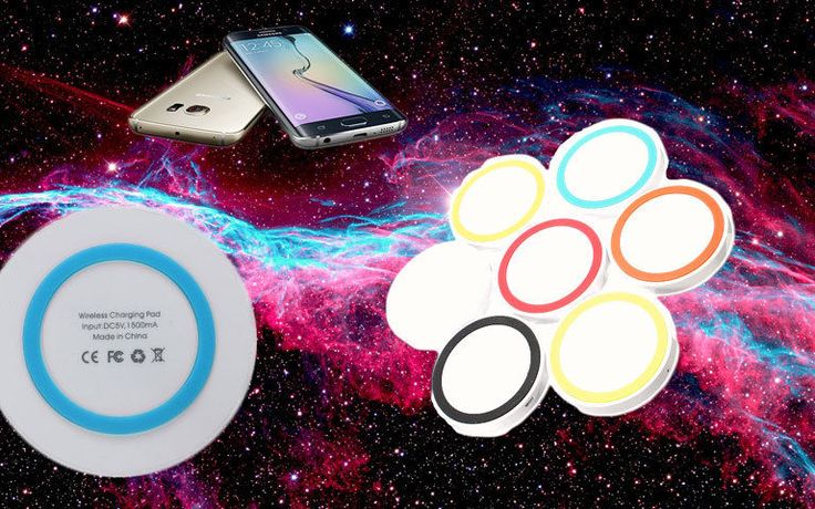 Universal Qi Wireless Phone Charger Pad USB Dock Station Mobile Samsung S6 Apple