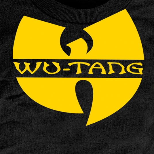 """Wu-Tangs's band logo 'W' is one of the most distinguishable logos in hip-hop culture, with its members adorning the """"W"""" on everything from clothing to chains, but it is most prominent on dozens of their album covers. By sticking with their original band logo, the group are instantly recognizable. The Wu-Tang  Created by DJ and producer Mathematics, the band have stuck by the original design throughout their expansive career."""