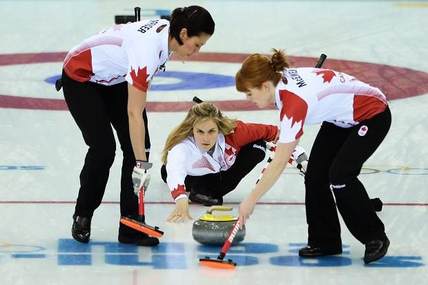 The Canadian team, led by Jennifer Jones, won curling gold