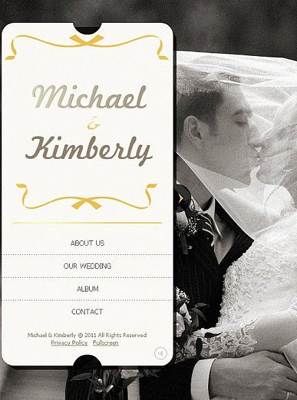 Michael Kimberly Facebook Flash CMS Templates by Oldman