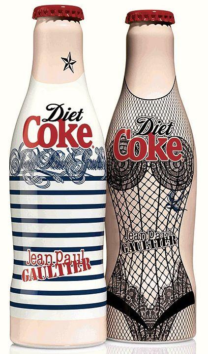 ❤ Jean Paul Gaultier for Diet Coke in London -XoK.