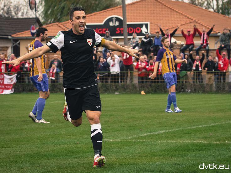 Tisza Tibor góljával jutott tovább a DVTK Cigándon a Magyar Kupában