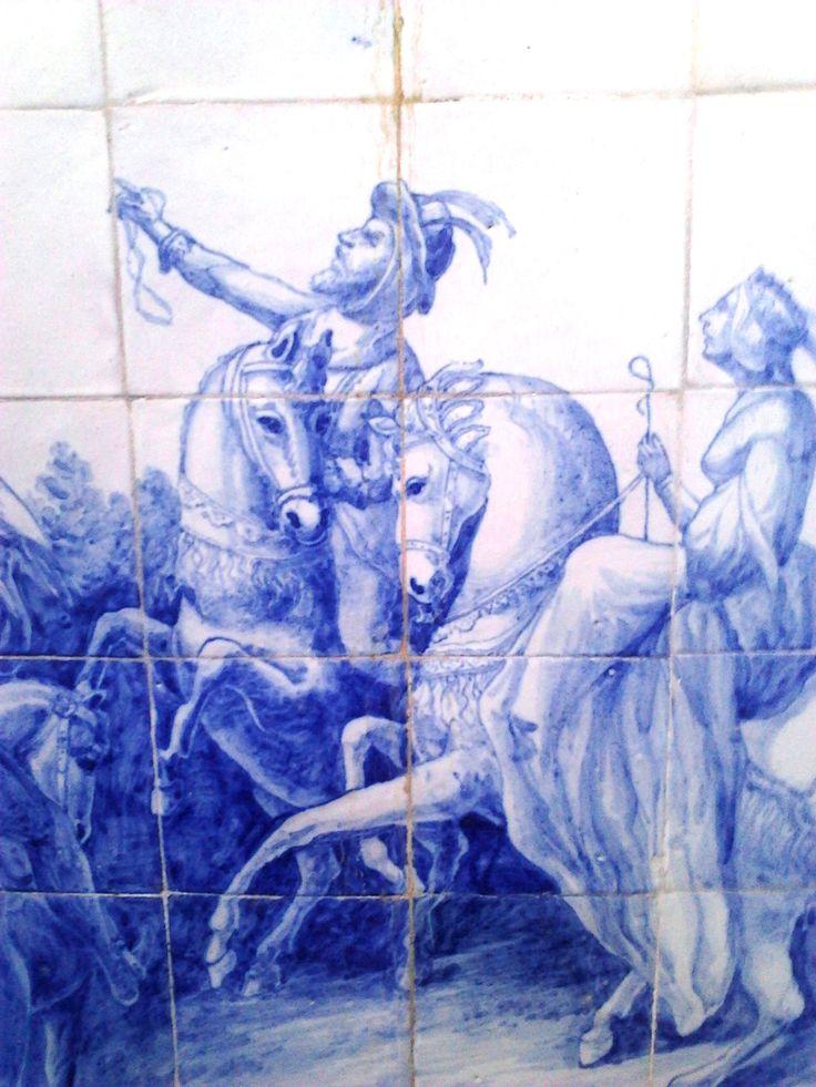 Azulejos Quinta da Regaleira Sintra Portugal