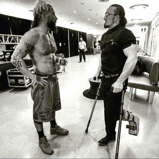 Enzo Amore & Neville