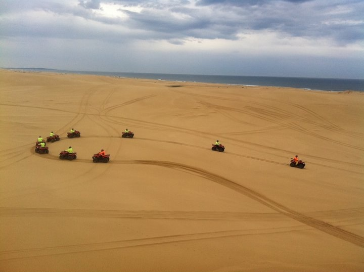 Sand Dune Adventures Quad Biking, Stockton Beach.