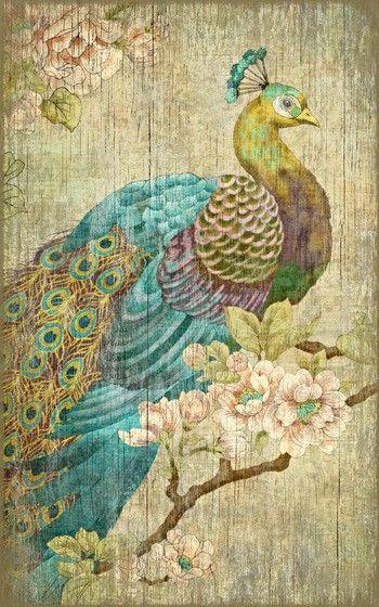Vintage Peacock Sign: Custom Vintage Signs