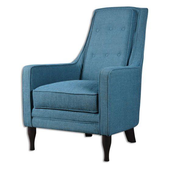 Best Uttermost Katana Arm Chair Blue Accent Chairs Blue 400 x 300