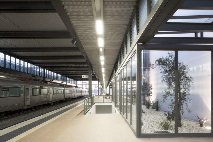Nova Estação de Caminhos de Ferro de Aveiro  / JLLA