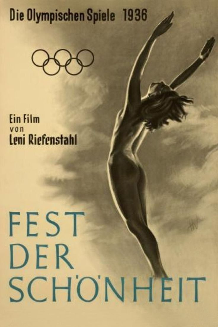 Leni Riefenstahl's Olympia 2. Teil: Fest der Schönheit Part Two: Festival  of Beauty (1938) in 2020 | Leni riefenstahl, Olympische spiele, Olympia