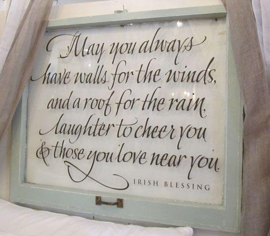 Funny Wedding Gifts Ireland : Irish Blessing Window True statements!!! Pinterest