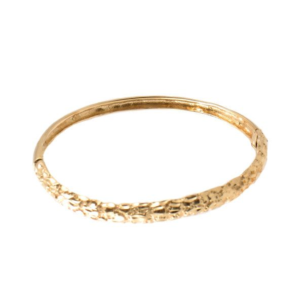 gold cut bangles set bangle pattern diamond bracelet mk floral yellow engraved
