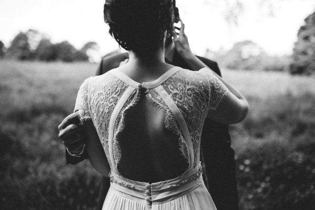 Credit: Wianda Bongen Photography - volk, meisje, monochroom, portret, vrouw, een, volwassen, natuur, buitenshuis, jurk, zomer, model, mode