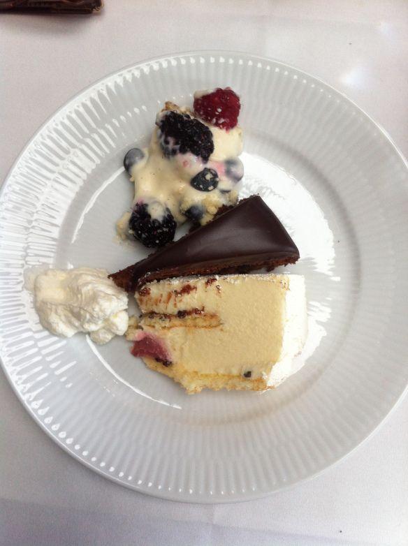 cake buffet at Nimb