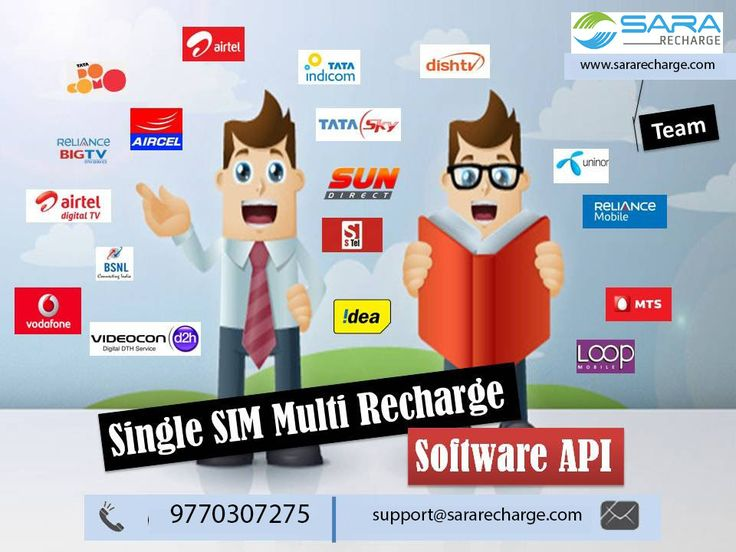 Single SIM multi recharge services provided by SaraRecharge you can simply login on SaraRecharge.com it's easy to recharge mobile and DTH online. Enjoy the benefits of Single SIM Recharge Services: 24x7 Recharge available Quick and Easy to recharge unlimited recharge sim facility Saves time 24x7 Support Contact Us:- 131, Ashok Mandi Marg, Agar Road Ujjain, M.P. 456006 Email- Support(@)sararecharge.com
