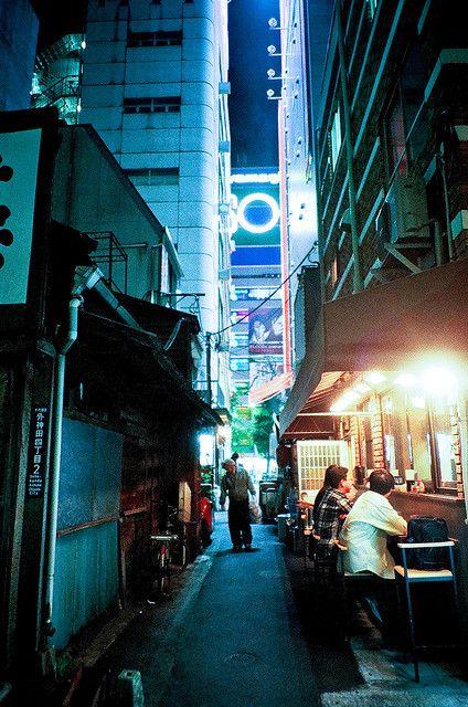 tokyo night blue / Kei Yoshimizu