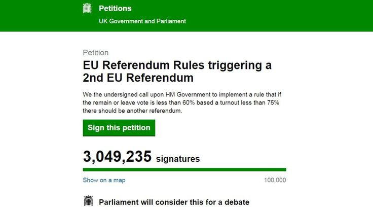 """In a Facebook post, the English Democrats member said he felt it was time to """"clarify my position on the issue even if it looks bad"""" and stressed that the remain side had """"hijacked"""" the petition on the government website.  He said: """"I am genuinely appalled by the behaviour of"""