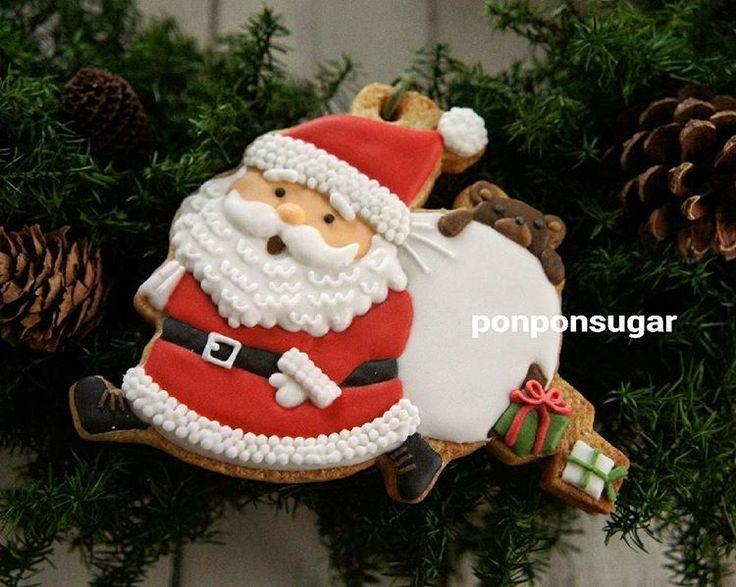 2016年12月 JSA三重支部アイシングクッキー作品展  #アイシングクッキー #icingcookie #icingcookies #sugarcookie #sugarcookies #cookie #cookies #クリスマス #christmas #クリスマスオーナメント #オーナメントクッキー #サンタクッキー #サンタ #サンタさん #サンタクロース #santa #santaclaus  #santaclauscookies #あわてんぼうのサンタクロース #プレゼント落ちてる