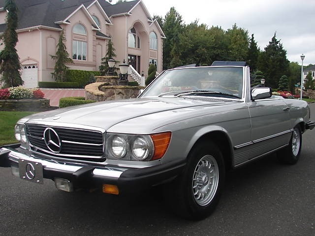 """Mercedes 450sl - Always wanted one so I could properly go around shouting my head off like Sharon Stone in """"Casino."""""""