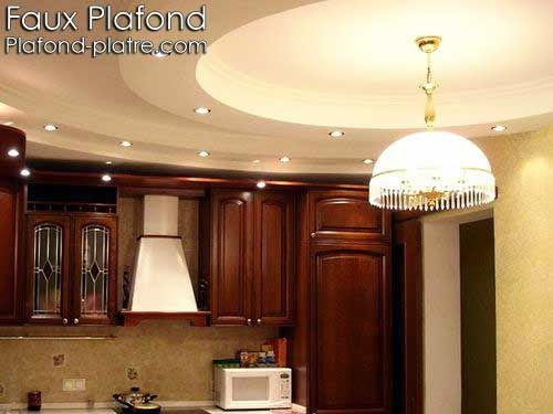 17 best images about faux plafond on pinterest coiffures for Plafond suspendu cuisine