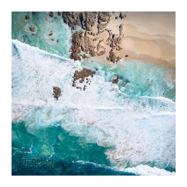 """Three Bears Beach"", Yallingup region Western Australia. Taken on a recent Cessna flight over the Busselton & Dunsborough region. . . ⠀ #dunsborough #justanotherdayinwa #australiassw #margaretriver #amazing_wa #westisbest #seeaustralia #discovermargaretriver"
