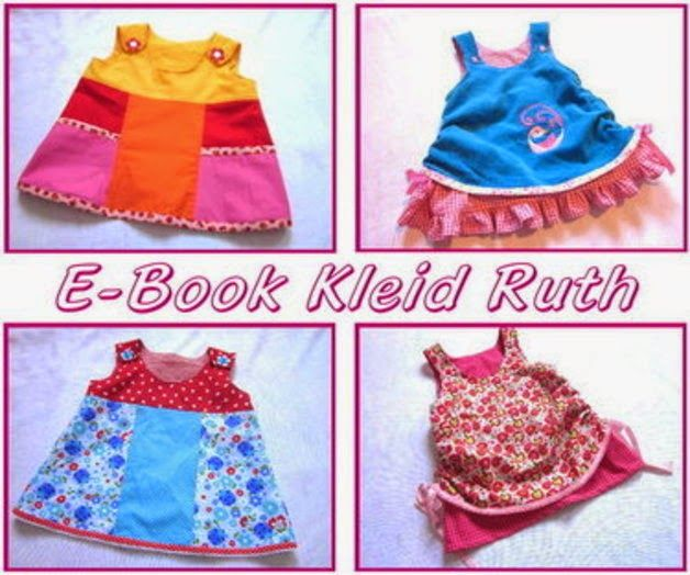 Freebook Kleid Ruth Gr. 68-128