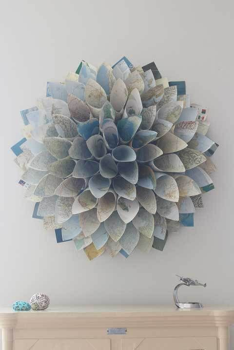 25 Best Ideas About Paper Wreaths On Pinterest Diy