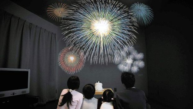 Indoor Fireworks Projector - Now you can enjoy spectacular firework displays all year round, without leaving home, via this ingenious projector that beams countless customizable displays across walls and ceilings.