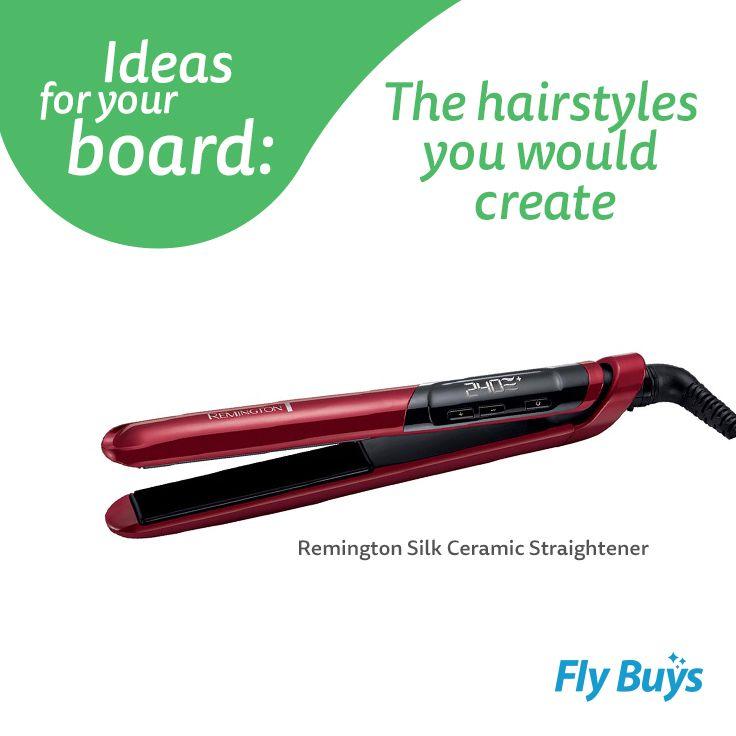 Remington Silk Ceramic Straightener #530pts #flybuysnz