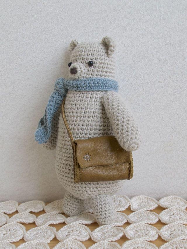 Sweet bear #amigurumi #crochet