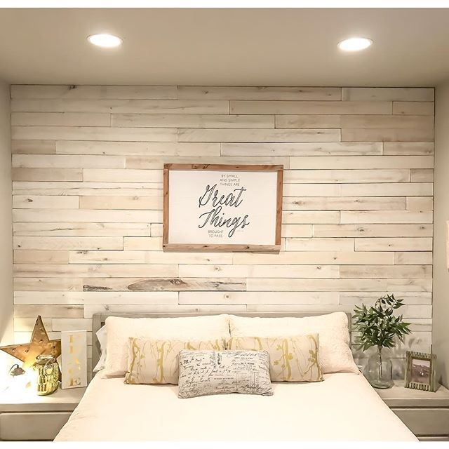Weaber White Wash Wall Boards By Kelly Ballard Of Utah Wood Walls Bedroom Pallet Wall Bedroom Master Bedrooms Decor