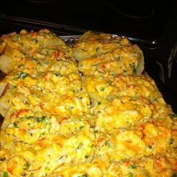 Crawfish Bread: A great use for leftover crawfish from a crawfish boil.