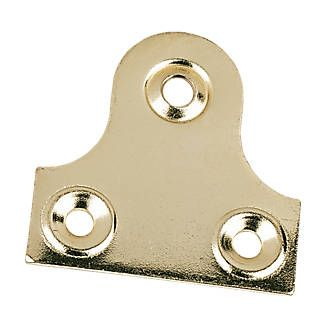 Screwfix Plain Mirror Plates Electro Brass 38 x 38 x 38mm Steel, electro brass Mirror Plates for hanging mirrors or pictures. http://www.MightGet.com/january-2017-13/screwfix-plain-mirror-plates-electro-brass-38-x-38-x-38mm.asp