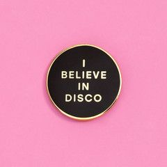 ban.do + valley cruise i believe in disco pin