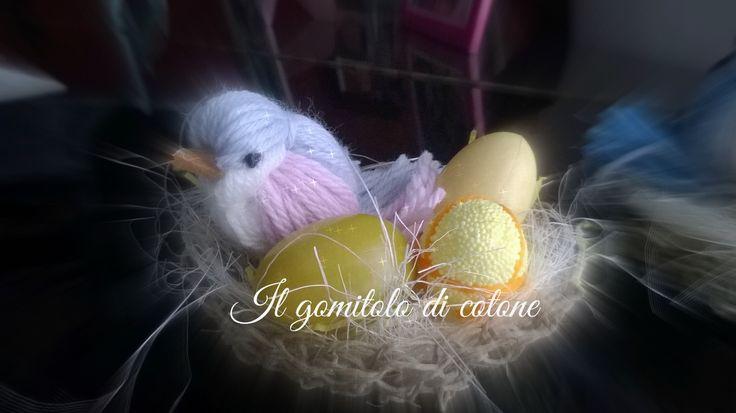 uccellini di lana