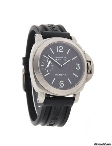 Panerai Luminor Marina ad: $5,410 Panerai Luminor Marina Titanium PAM 00118 Ref. No. PAM00118; Titanium; Manual winding; Condition 1 (mint); Year 2003; With box; With pape