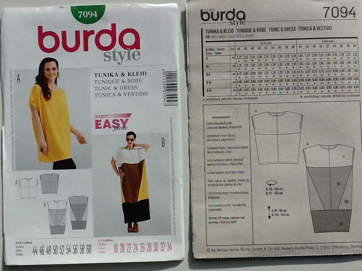 BURDA 7094 EASY