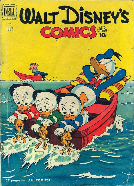 Walt Disney's Comics and Stories, July 1951 by twomets, via Flickr